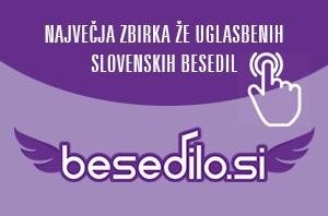 Slovenska glasbena besedila